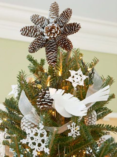 20 Whimsy And Creative Christmas Tree Toppers
