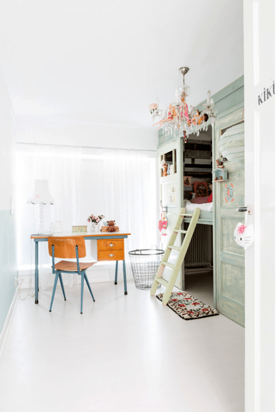 Whimsy Andplayful Family Home With Vintage Furniture