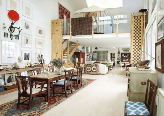Whimsy Apartment With Colonial Touches And African Art