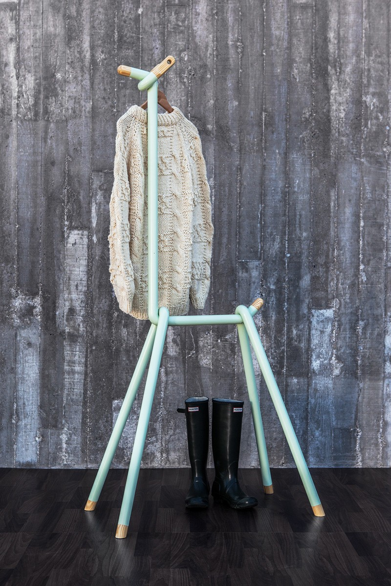 Whimsy Llama Clothes Rack For Modern Living Spaces