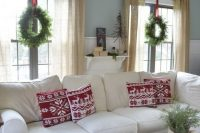 white Ektorp sectional sofa for a large living room