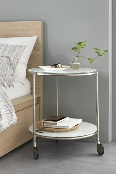 White Strind Coffee Table For A Nightstand