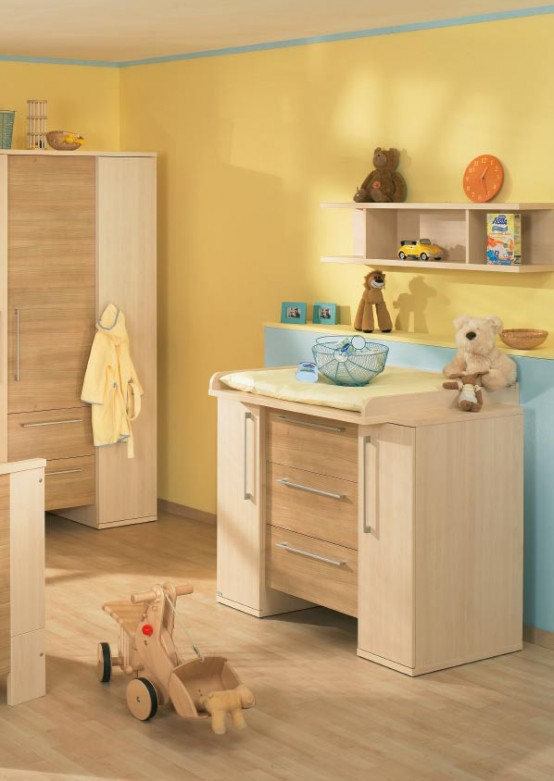 White And Wood Baby Nursery Furniture Sets By Paidi. 18 Nice Baby Nursery Furniture Sets and Design Ideas for Girls and