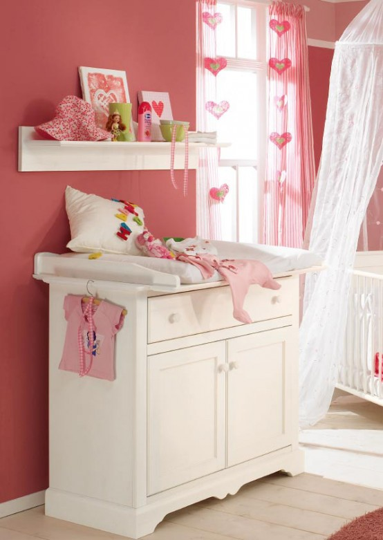 paidi great white and wood baby nursery furniture sets by