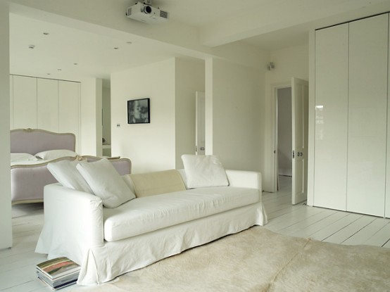 Westbourne Park Villas Two Floor White Apartment