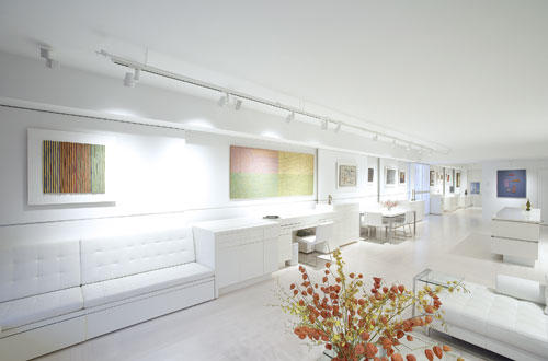 White Interior Design Ojito Residence