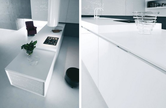 White Kitchen Cabinets And Accessories