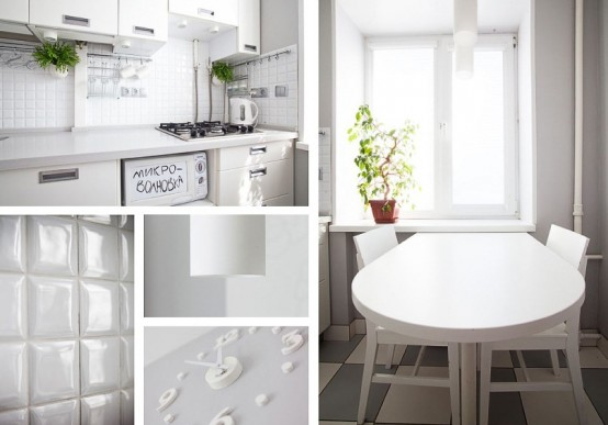 White Kitchen Design With Smart Storage Solutions
