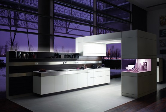 White Kitchen For