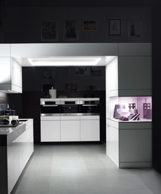 White Kitchen For