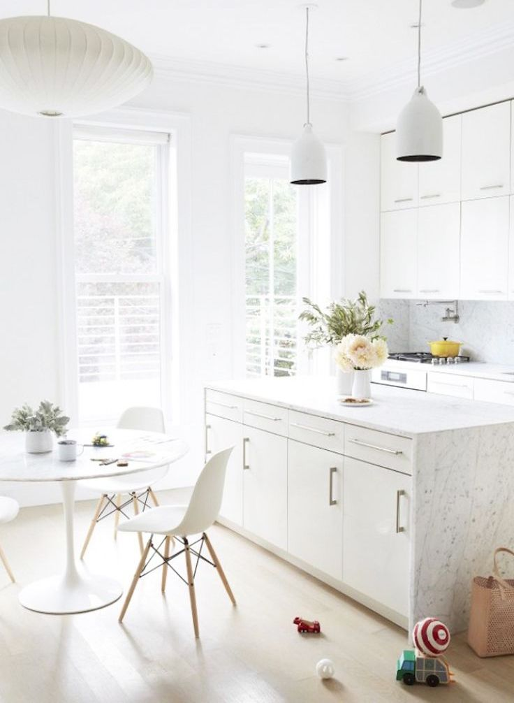 Winter Wonderland: 37 White On White Home Decor Ideas ...