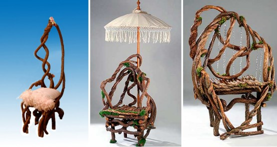 Wicker Furniture Made Of Twigs