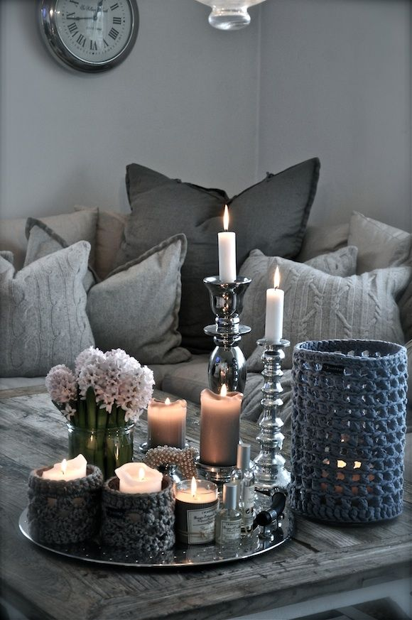 Winter Decor Trend: 34 Stylish Silver Accessories And Decorations ...