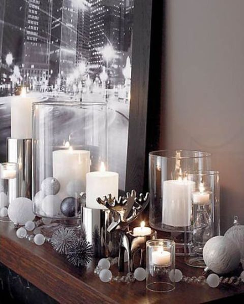 Winter decor trend 34 stylish silver accessories and decorations digsdigs - Fall decor trends five tips to spruce up your homes ...