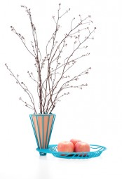 Wire Blossom Fruit Bowl And Vase In One