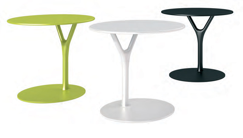 Multipurpose Side Table Made Of Powder Coated Steel