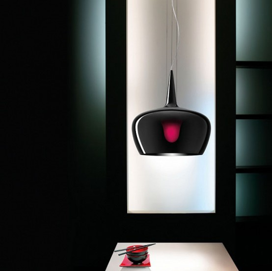 Stylish and Elegant Suspension Lamp – Witch Lamp by Leucos