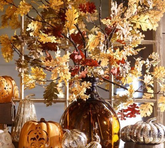 Wonderful Fall Decor With Branches