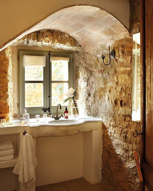 Incroyable Wonderful Stone Bathroom Designs