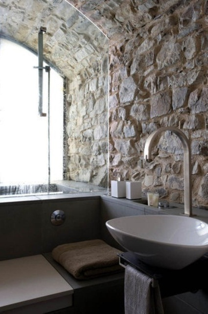 Wonderful Stone Bathroom Designs