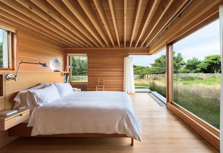 Picture Of Wood Clad Interior Ideas To Warm Up In The Winter 1