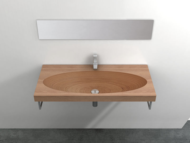 Natural Wood Sink – Stan by Plavisdesign | DigsDigs