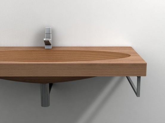 Wood Sink Stan By Plavidesign