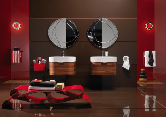 Wooden Bathroom Vanities Regia