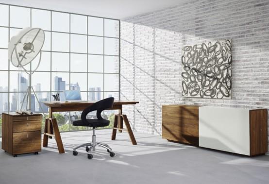 Wooden Desk Atelier