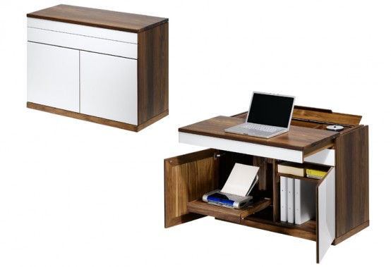 Wooden Desks Secretaire