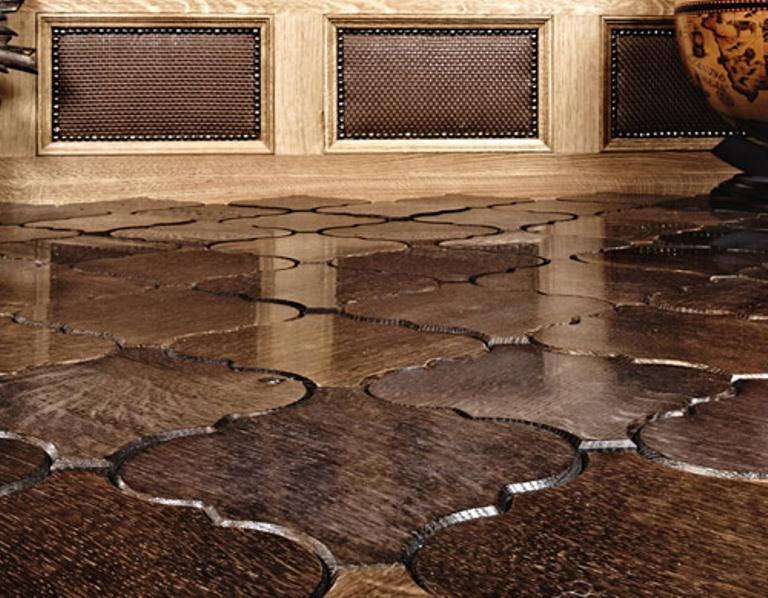 Wooden Floor Tiles - Parquet And Tiles In One | DigsDigs