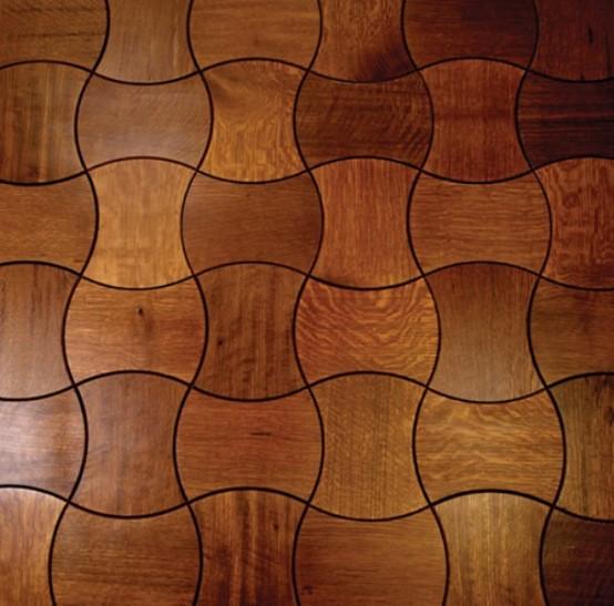 Wooden Floor Tiles Tiles And Parquet In One