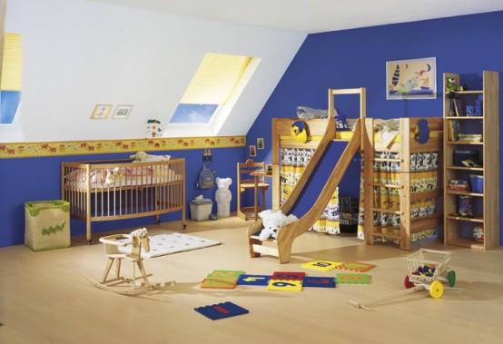 Wooden Furniture for Kids and Teens Rooms from Team 7