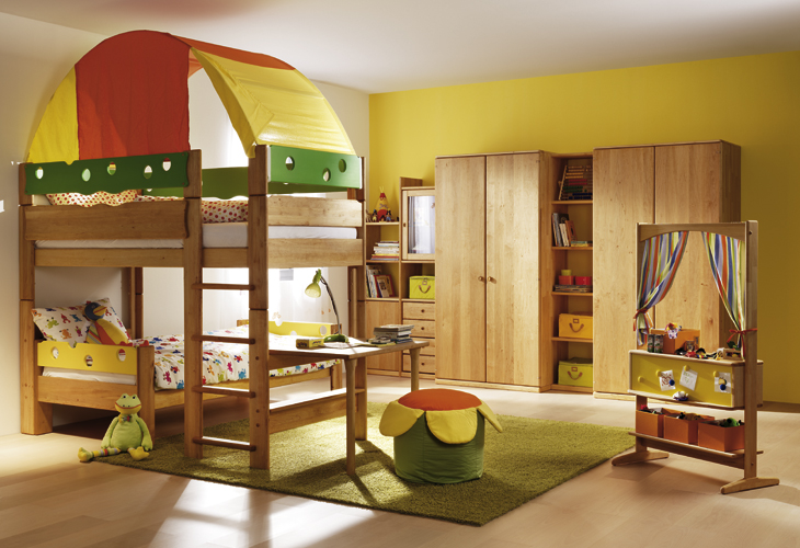Wooden Furniture for Kids and Teens Rooms from Team 7  : wooden furniture kidss room 2 from www.digsdigs.com size 730 x 500 jpeg 263kB