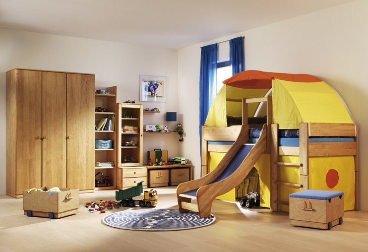 Wooden Furniture for Kids and Teens Rooms from Team 7 | DigsDigs