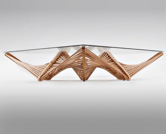 Wooden Furniture Of Exquisite Shapes And Lines