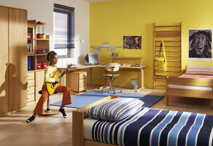 Wooden Furniture For Kids And Teens Rooms From Team 7 Digsdigs