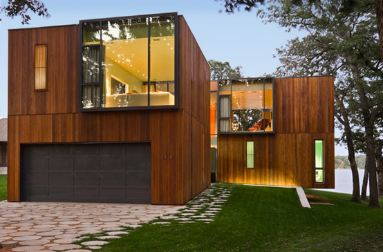 Modern Wooden House On Lake Okoboji