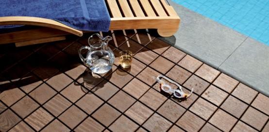 Wooden Modular Flooring for Outdoor Areas – Larideck by Bellotti