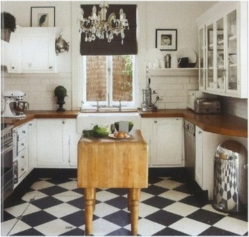 Vintage Kitchen Ideas: 28 Vintage Wooden Kitchen Island Designs