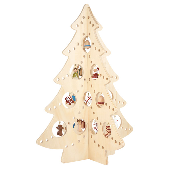 10 modern christmas tree alternatives digsdigs Christmas trees made out of wood