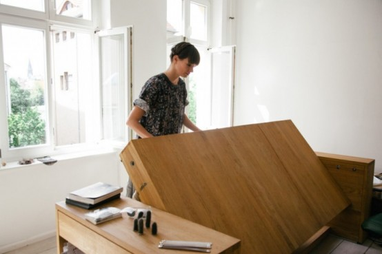 Workbed Desk That Transforms Into A Bed