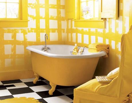 Yellow Bathroom Glamorous 37 Sunny Yellow Bathroom Design Ideas  Digsdigs Inspiration
