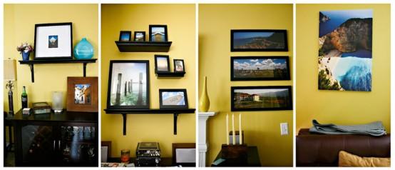 yellow livingroom