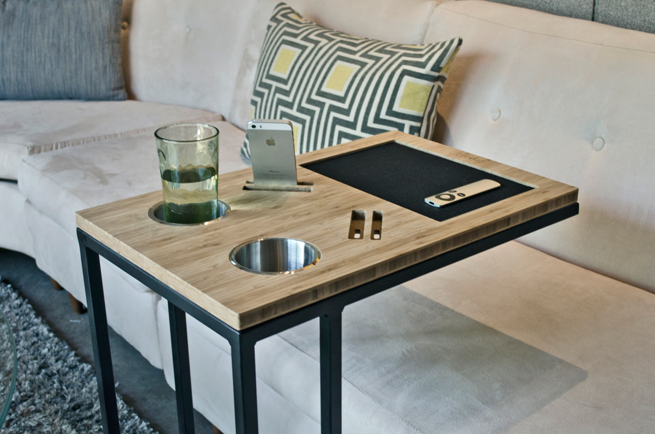 Your Sofa's Best Friend: Caddy Table
