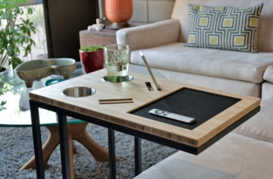 Your Sofas Best Friend Caddy Table