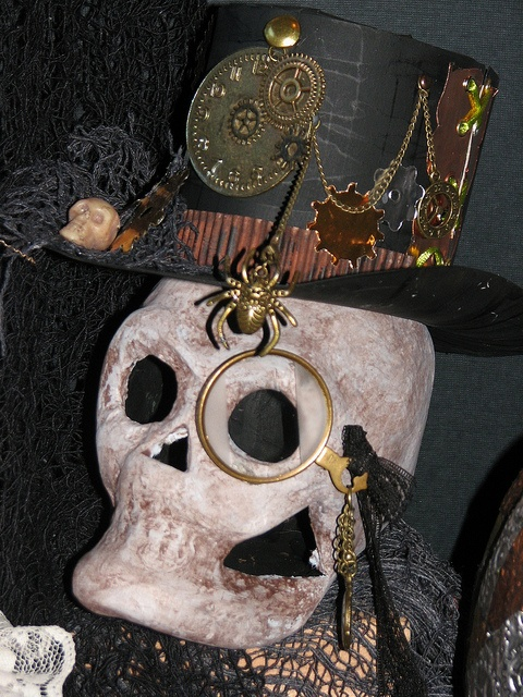 44 Unique Steampunk Halloween Decorating Ideas Digsdigs