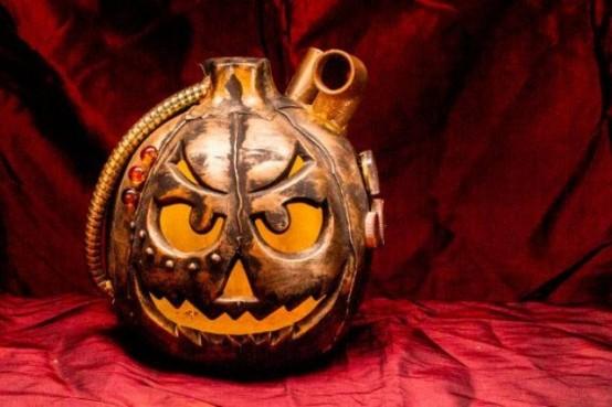 44 Unique Steampunk Halloween Decorating Ideas - DigsDigs