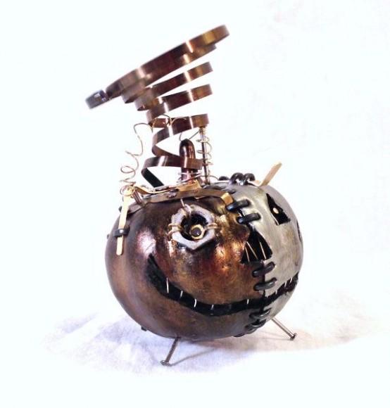 44 Unique Steampunk Halloween Decorating Ideas