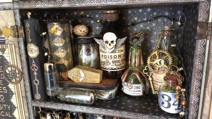 Steampunk Decorating Tutorials myideasbedroomcom - Unique Halloween Home Decor